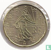 France 20 cent 2011
