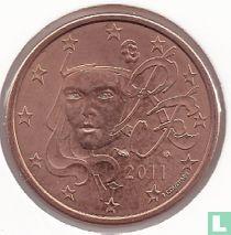 France 5 cent 2011
