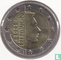 Luxembourg 2 euro 2002 (small stars)