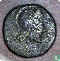 Pergamon, Mysia, AE14, 270-113 BC, onbekend heerser, var. 2