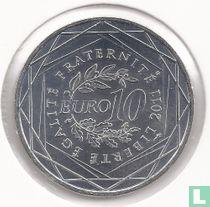 "France 10 euro 2011 ""Franche-Comté"""