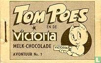 Tom Poes en de Victoria melk-chocolade - avontuur Nr. 1