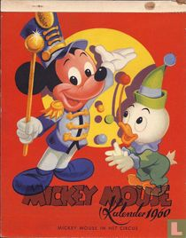 Mickey Mouse Kalender 1960 - Mickey Mouse in het circus