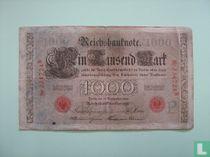Reichsbank, 1000 Mark 1909