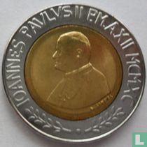 Vatican 500 lire 1990