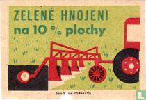 Zelené hnojeni na 10% plochy