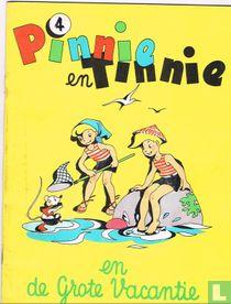 Pinnie en Tinnie en de grote vacantie