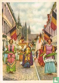 Doornik - De groote processie van O.-L.-V. der Zieken