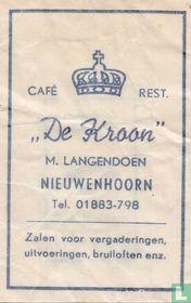 """Café Rest. """"De Kroon"""""""