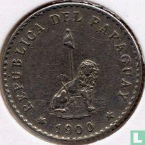 Paraguay 10 centavos 1900