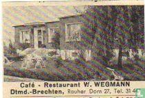 Café Restaurant W.Wegmann