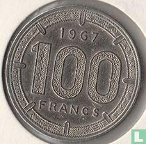 Kameroen 100 francs 1967