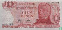Argentinië 100 Pesos 1976