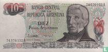 Argentinië 10 Pesos Argentinos 1983