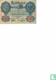 Reichsbanknote 20 Mark 1910