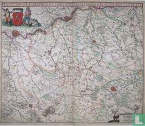 Tabula Ducatus Limburch et Comitatus Valckenburg in lucem Edita a F. de Wit