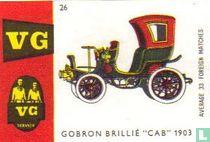"Gobron Brillé ""cab"" 1903"