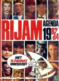 Rijam agenda 1983/84