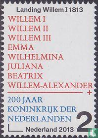 200 yrs Kingdom of Netherlands