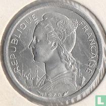 Français des Afars et des Issaland 1 franc 1975