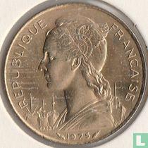 Français des Afars et Issaland 20 francs 1975