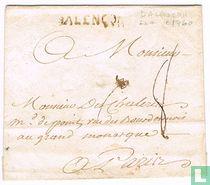 """Lettre avec Marque Postale """" Alençon (D') """""""