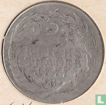 Pruisen 1/3 thaler 1777