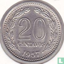 Argentinië 20 centavos 1957