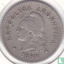 Argentina 10 centavos 1898