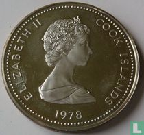 "Cookeilanden 10 dollars 1978 (PROOF) ""25th Anniversary of the Coronation of Queen Elizabeth II"""