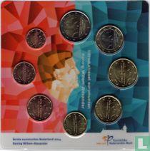 "Netherlands mint set 2014 ""Introducing new coins King Willem - Alexander"""