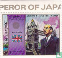 Bezoek keizer van Japan in Europa