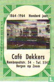 Café Dekkers
