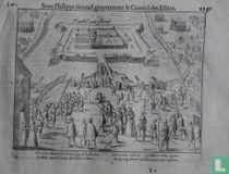 Flandria Maurorum tinuit suppressa furores