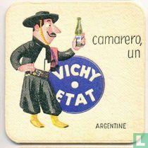"""Argentine camarero, un Vichy Etat / Dit is een van de 30 bierviltjes """"Collectie Expo 1958""""."""