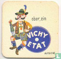 """Autriche Ober, ein Vichy Etat  / Dit is een van de 30 bierviltjes """"Collectie Expo 1958""""."""