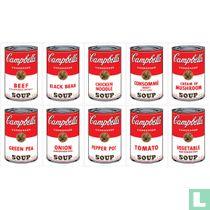 Campbell soup complete set