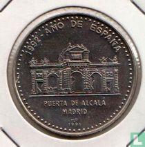 """Cuba 1 peso 1991 """"Madrid - Alcala Gate"""""""