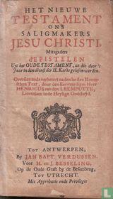 Het Nieuwe Testament ons Saligmakers Jesu Christi
