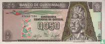 Guatemala 0.50 Centavos