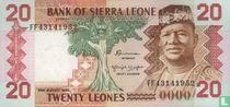Sierra Leone 20 Leones 1984