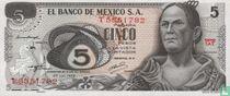 Mexico 5 pesos