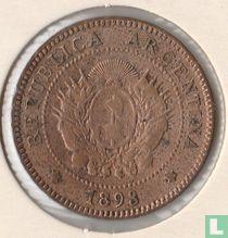 Argentina 1 centavo 1893