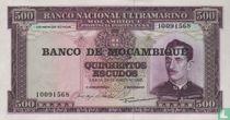 Mozambique 500 escudos