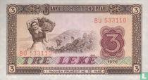 Albanië 3 Lekë 1976