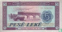 Albanië 5 Lekë 1976