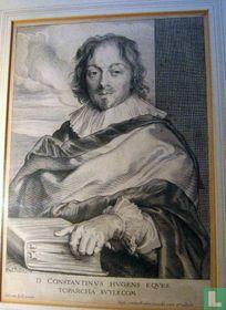 Portret van Huygens Constantijn Huygens, heer van Zuilichem