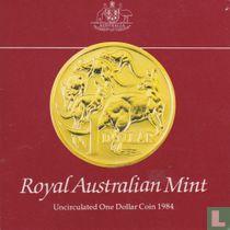 Australië 1 dollar 1984 (folder)