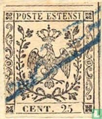 Herzogtum Modena - Adler mit Krone