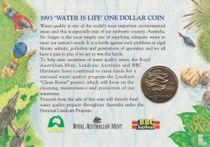 "Australië 1 dollar 1993 (coincard) ""Landcare Australia"""